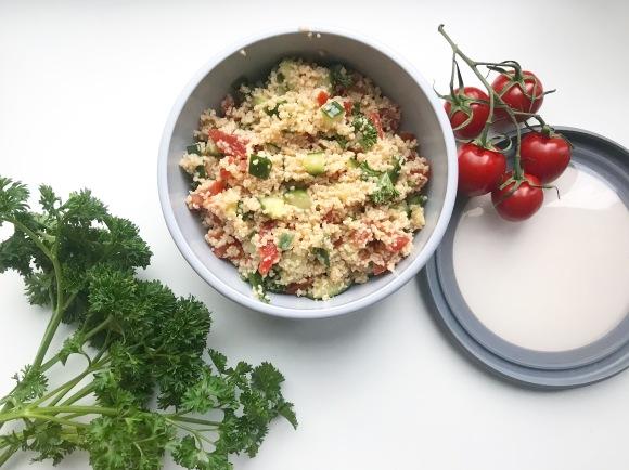 Meal Prep Ideas #1 –Couscoussalat