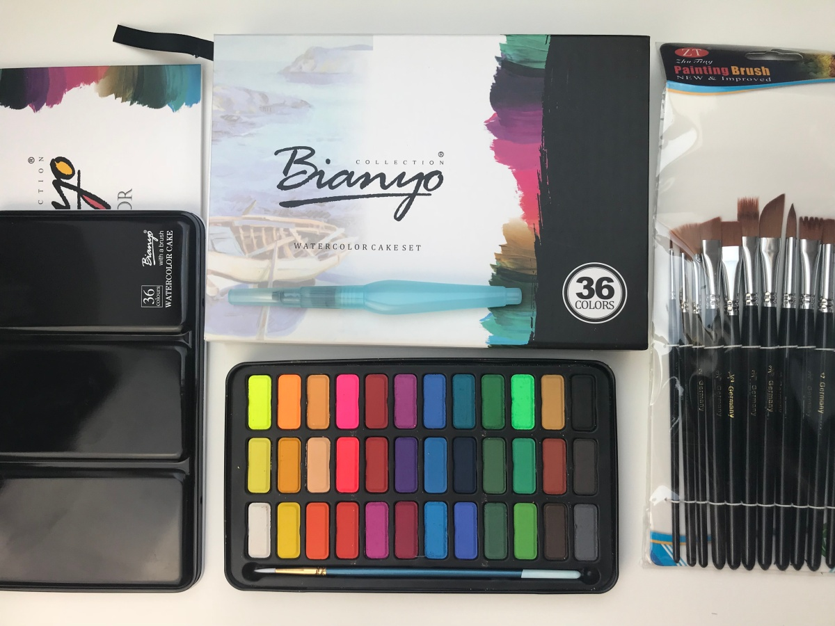 Aquarellfarben von Bianyo - Review