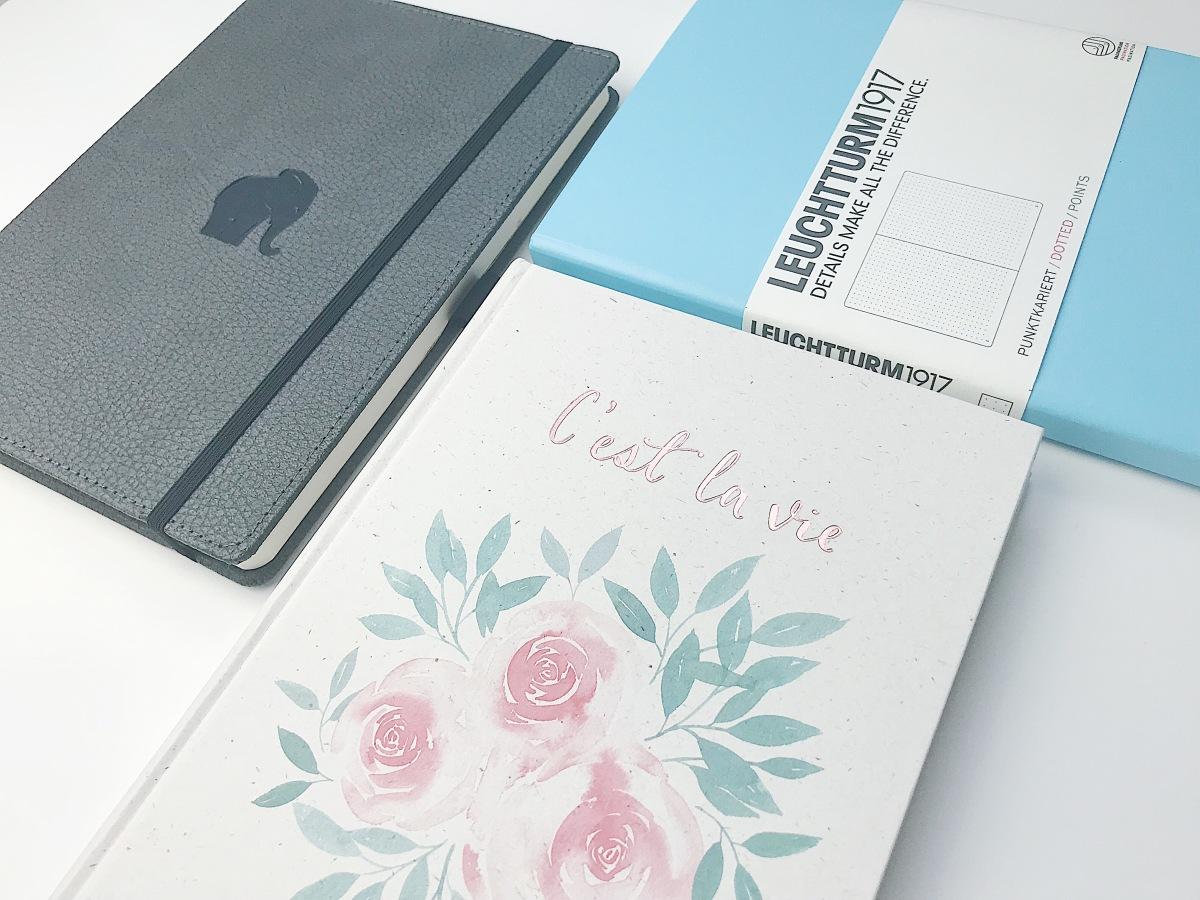 Der Bullet Journal Guide #1 - Welches Notizbuch passt zu mir?
